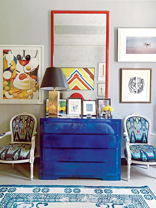 Cobalt Blue Fashion Home D Cor New D J Vu